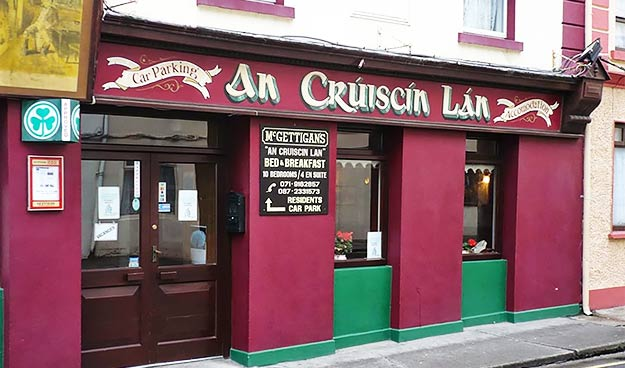 An Cruiscin Lan B&B Sligo