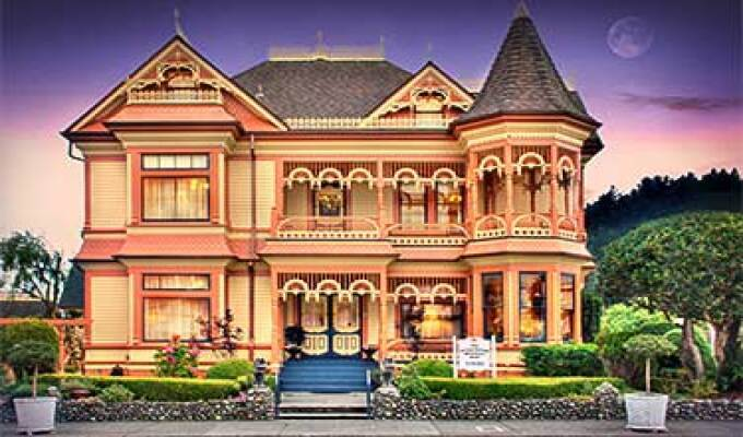 Gingerbread Mansion B&B Ferndale