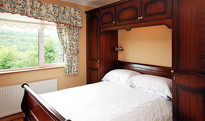 Relax in the countryside and enjoy the peaceful views from your bedroom