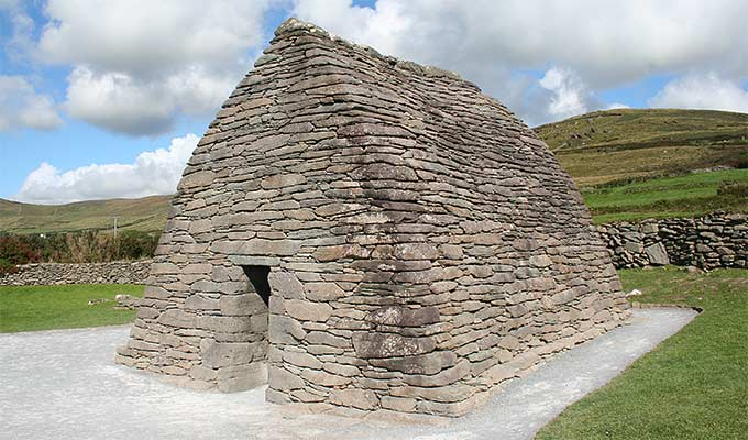 The Gallarus Oratory - believed to be an early Christian church