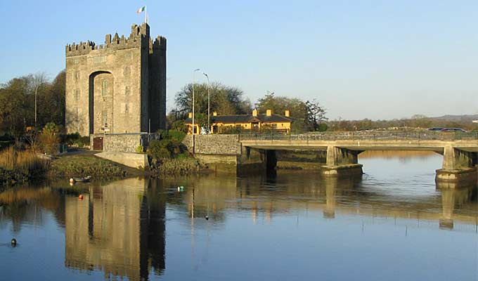 History is never far away in Bunratty