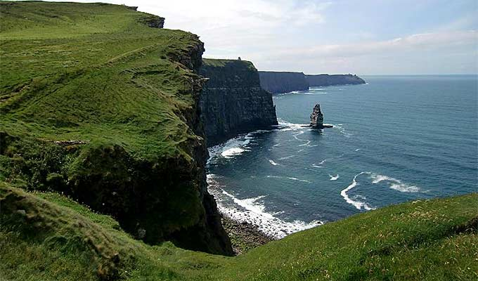 The Cliffs of Moher are just a short drive