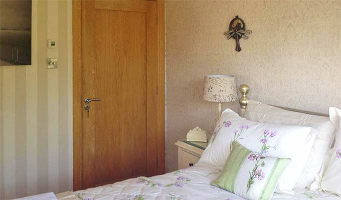 Double rooms can be booked as singles