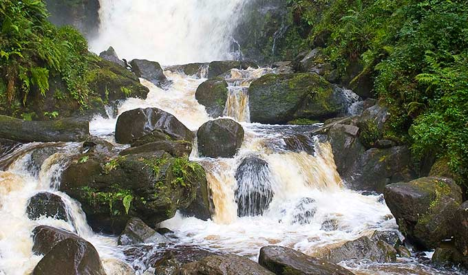 Torc Waterfall - just one of the many visitor attractions