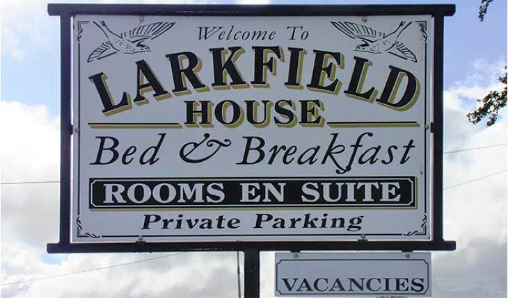Larkfield House B&B