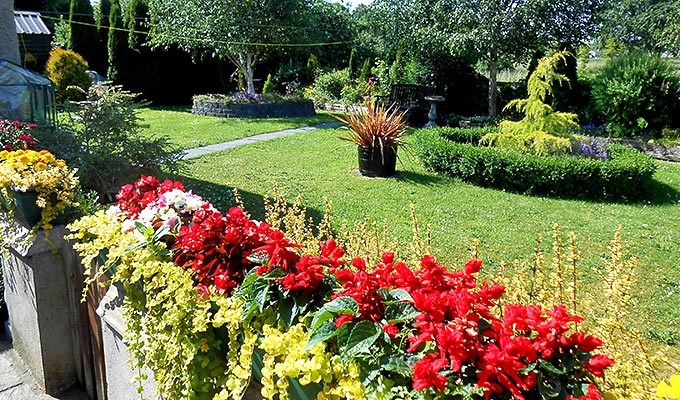 Our colourful gardens