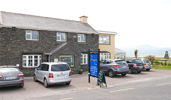 The Smugglers Inn, a delightful setting, charming hosts, bar and restaurant.