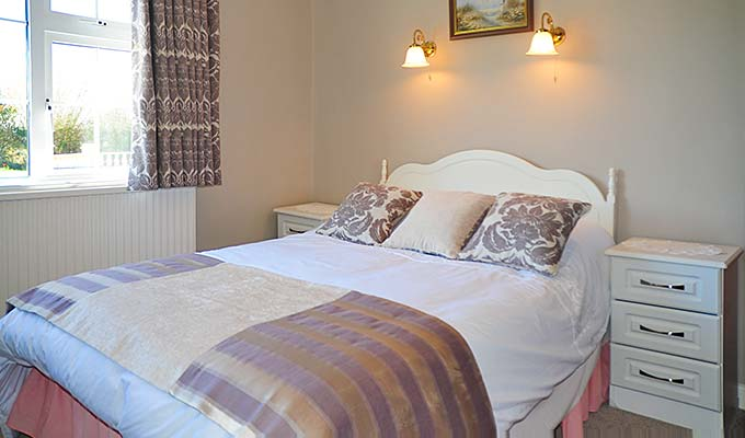 One of our double rooms - rates include breakfast